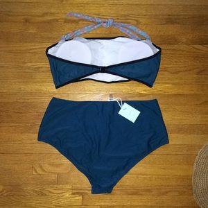Cupshe Swim - Cupshe // High-waisted Bikini // New with tags